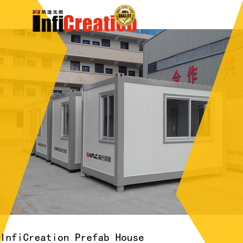 InfiCreation storage container houses supplier for toilet
