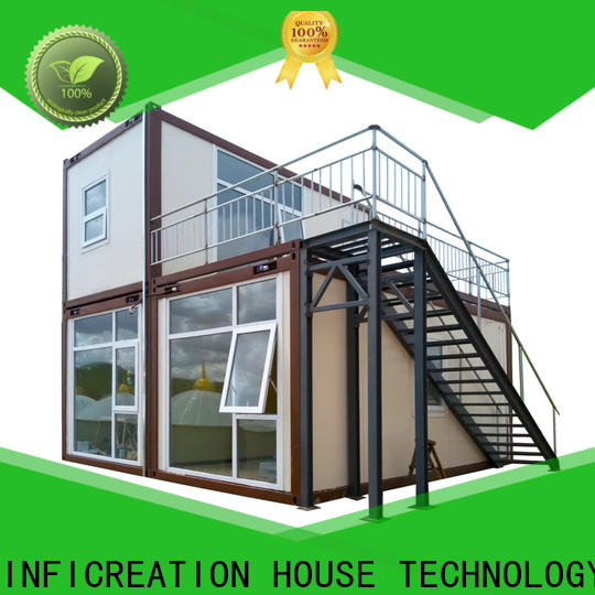 long lasting modular container homes customized for booth