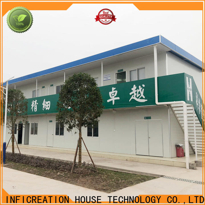 InfiCreation long lasting cargo container homes factory for booth