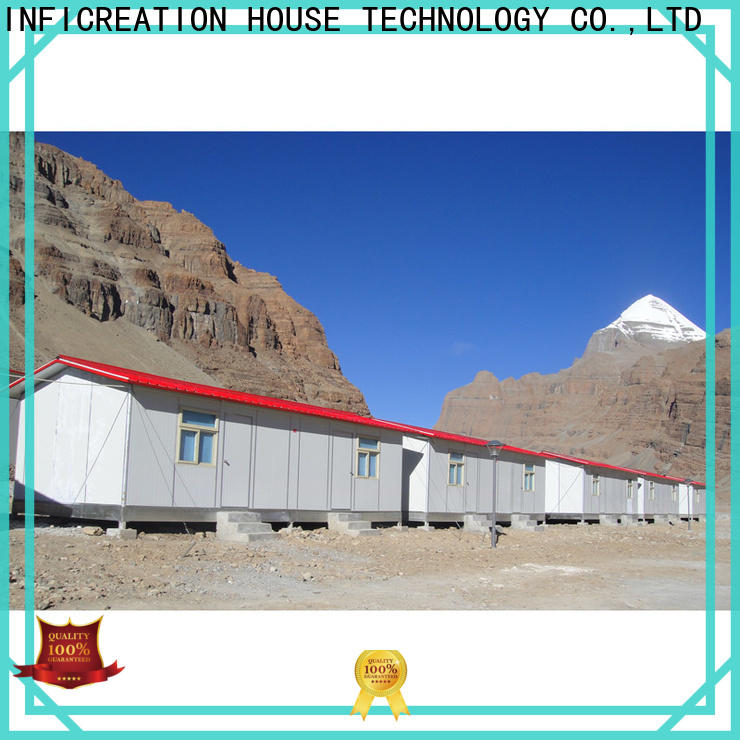 earthquake resistant construction site camp custom for office
