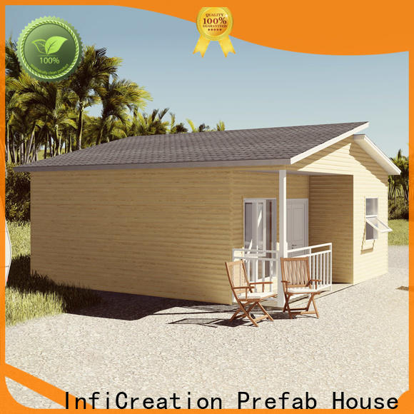 InfiCreation economical luxury prefab homes manufacturer for entertainment centers