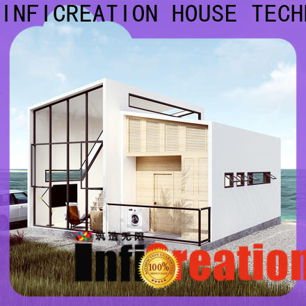 InfiCreation prefab villa manufacturer for entertainment centers