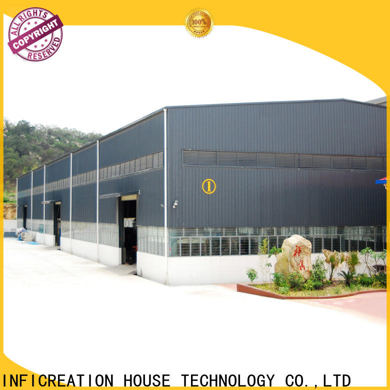 InfiCreation modern pre manufactured warehouse factory price for factory