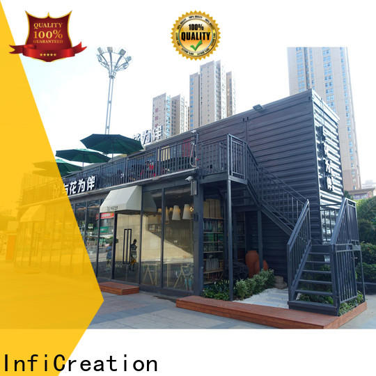 InfiCreation wholesale pre manufactured homes company for booth