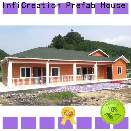 InfiCreation pre manufactured homes manufacturers for office
