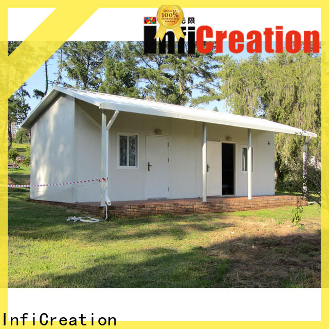 InfiCreation prefabricated k house supplier for accommodation