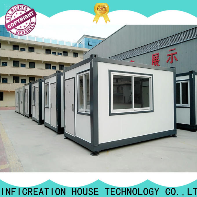 InfiCreation modular container homes customized for toilet