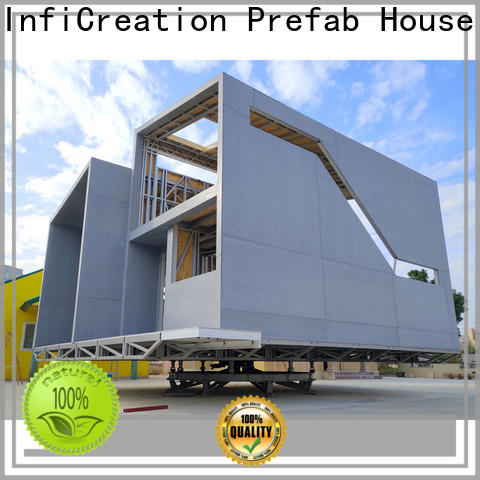 InfiCreation steel luxury prefab homes custom for entertainment centers