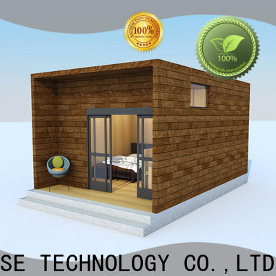 comfortable modular cottages designer for entertainment centers