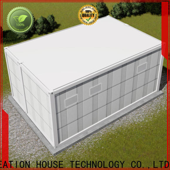 InfiCreation recyclable prefab container house manufacturer for booth