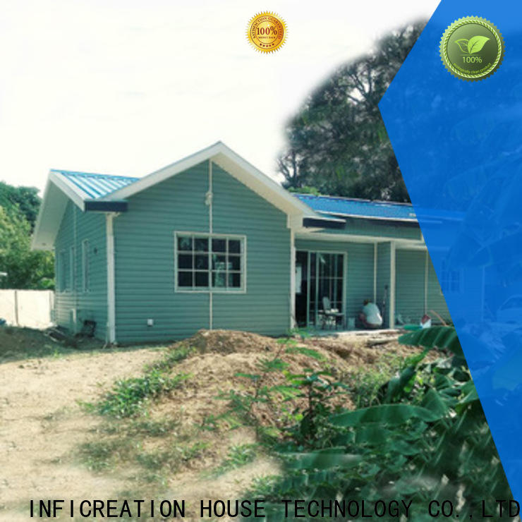 InfiCreation portable prefabricated luxury villas designer for accommodation