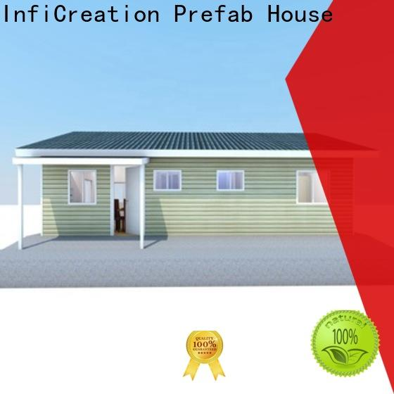 InfiCreation comfortable pre fabricated cottages custom for hotel