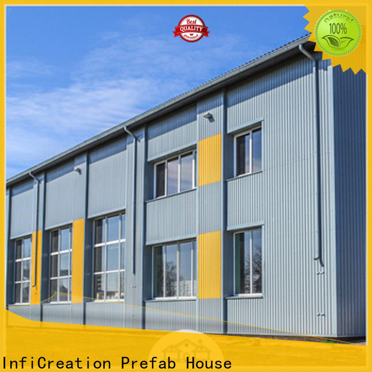 InfiCreation low cost prefab warehouse factory price for factory