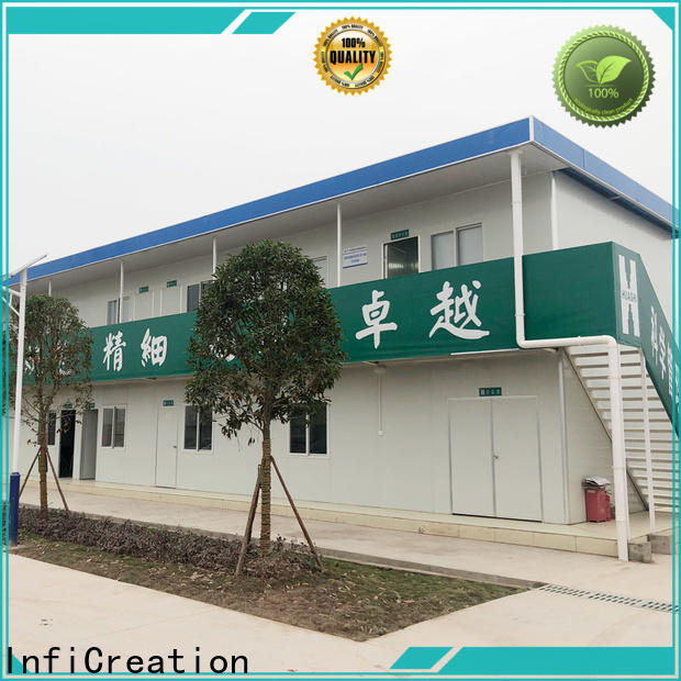 InfiCreation prefab container house directly sale for accommodation