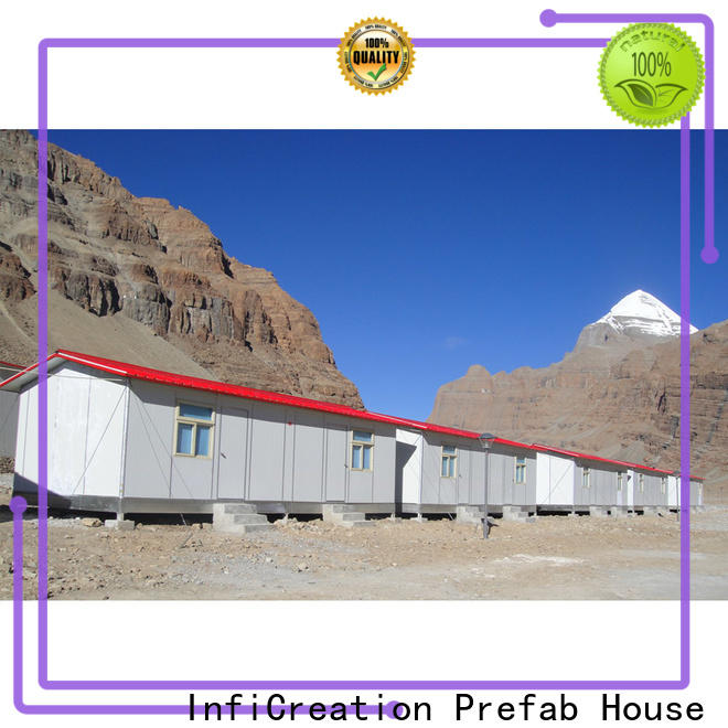 InfiCreation earthquake resistant site accommodation units wholesale for accommodation