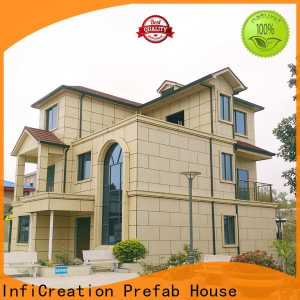 economical pre built houses factory price for entertainment centers