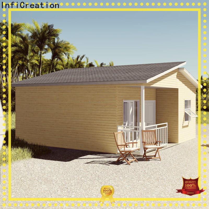 InfiCreation pre built homes designer for entertainment centers