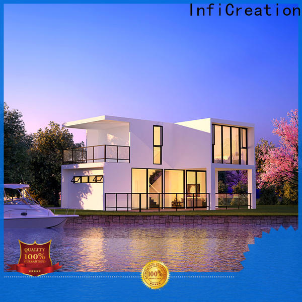 comfortable luxury prefab homes factory price for entertainment centers