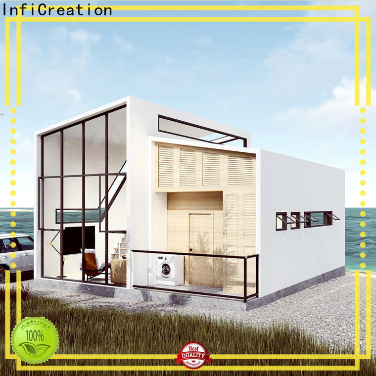 InfiCreation prefab villa factory price for accommodation