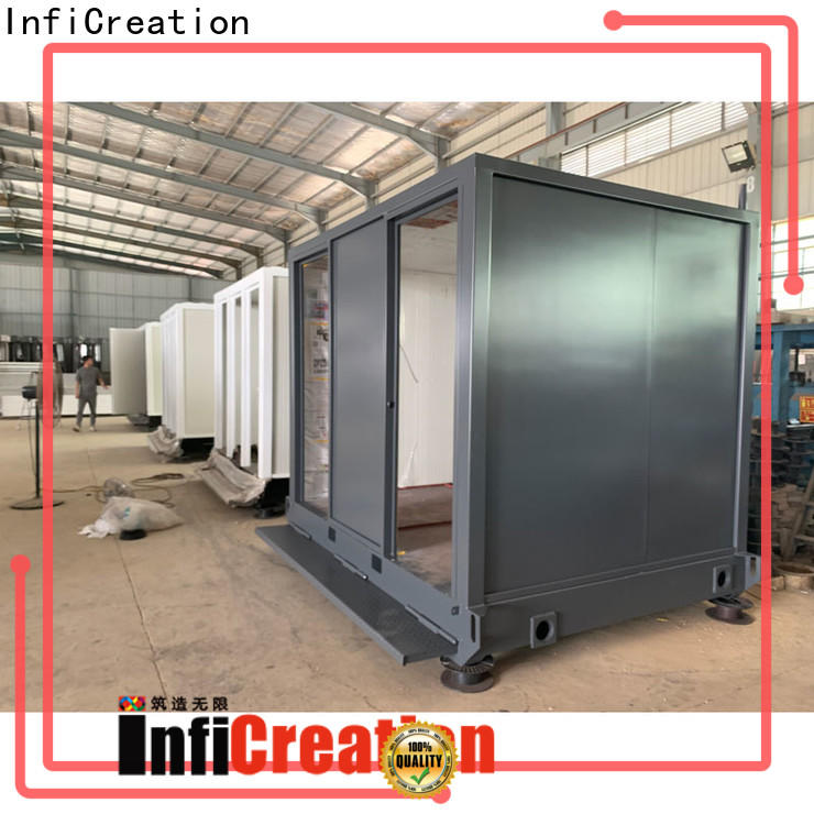 InfiCreation cargo container homes factory price for toilet