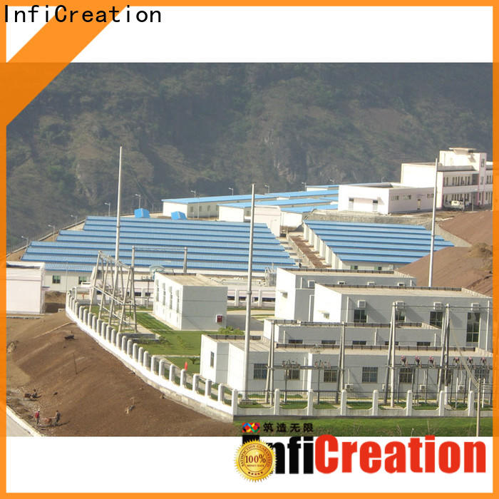 InfiCreation latest pre manufactured homes suppliers for office