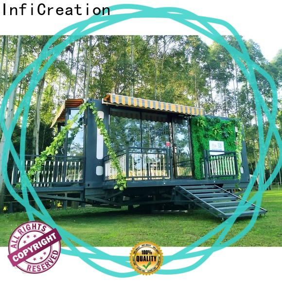 InfiCreation recyclable storage container homes manufacturer for booth