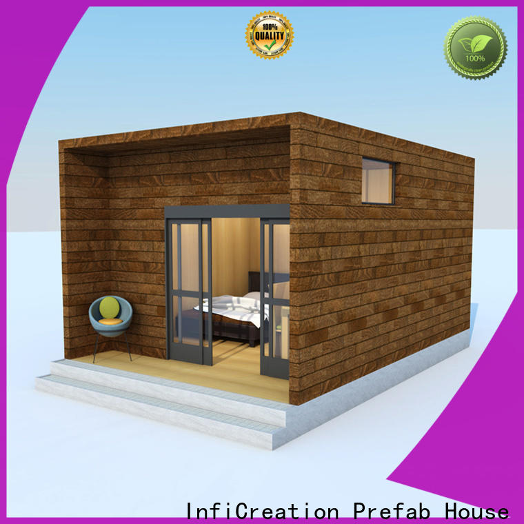 economical premade cottages manufacturer for hotel