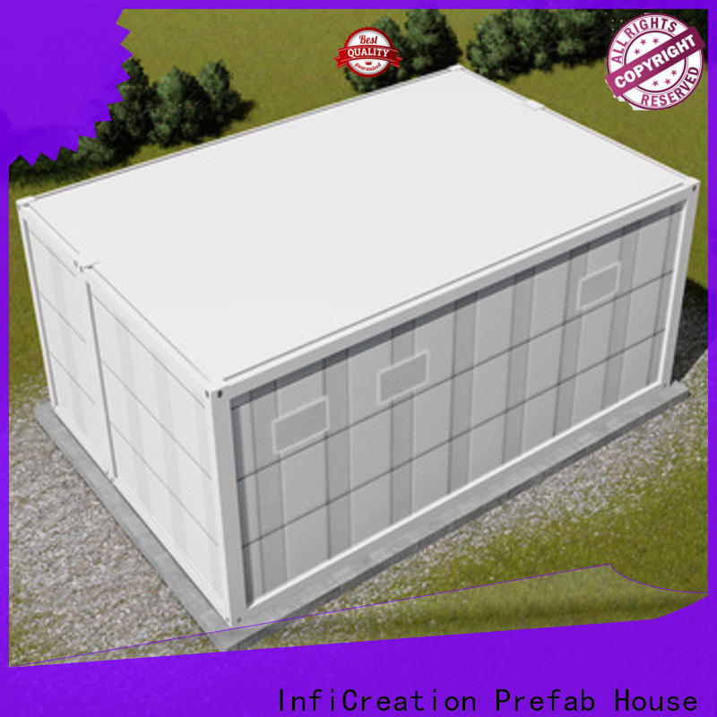 InfiCreation long lasting prefab container house directly sale for toilet