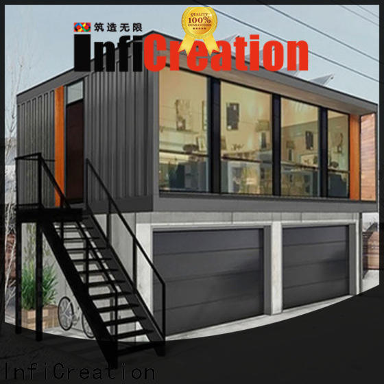 InfiCreation long lasting storage container homes factory price for carport