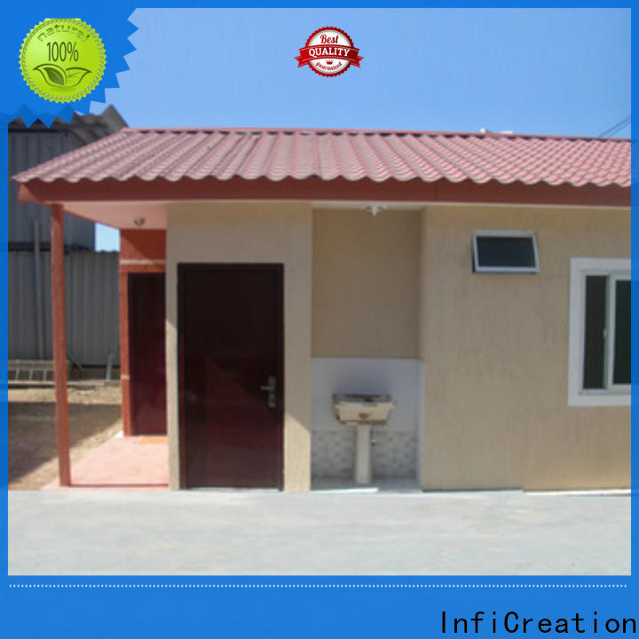 InfiCreation tiny prefabricated container homes directly sale for accommodation