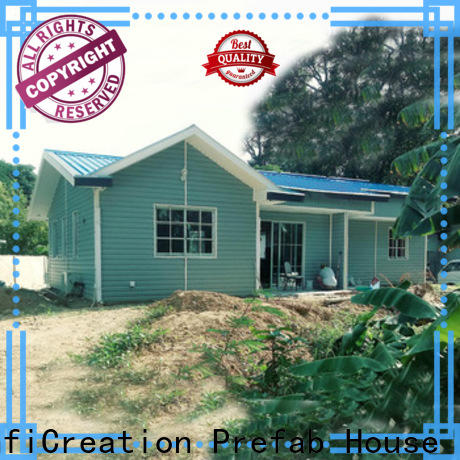 beautiful modular cottages factory price for hotel