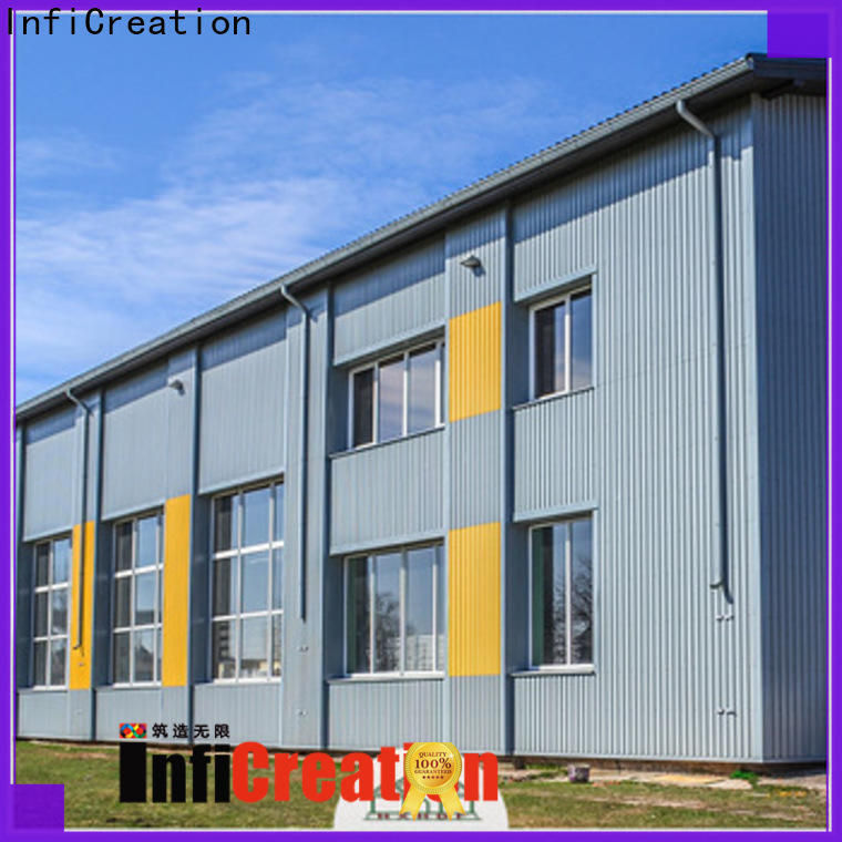 InfiCreation environmental friendly prefab steel warehouse directly sale for company