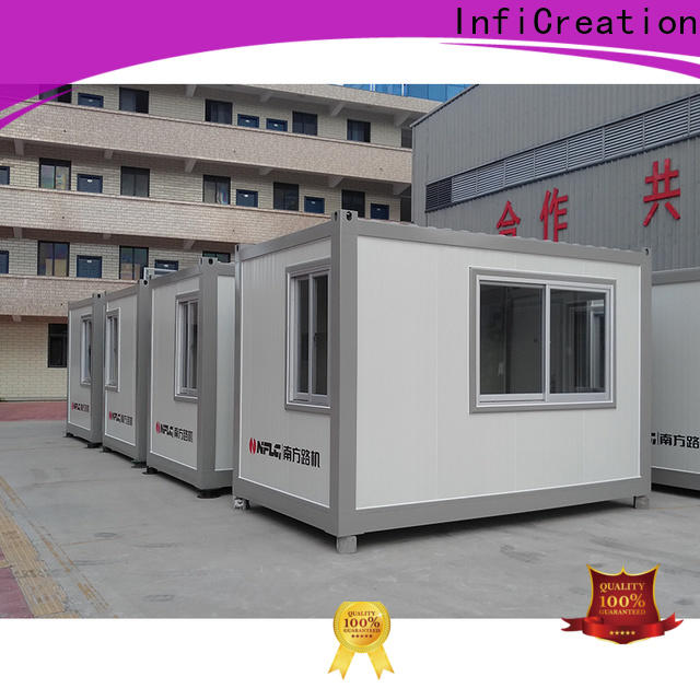 InfiCreation cargo container house directly sale for toilet