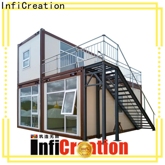 InfiCreation cargo container homes supplier for toilet