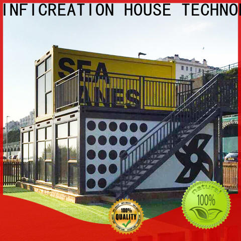 InfiCreation prefab container house factory for accommodation
