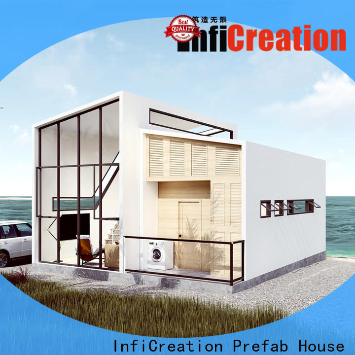 InfiCreation comfortable luxury prefab homes designer for hotel