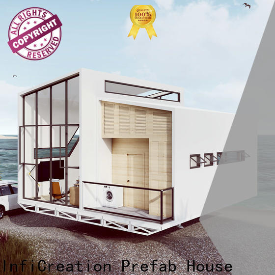 InfiCreation economical pre built homes manufacturer for hotel