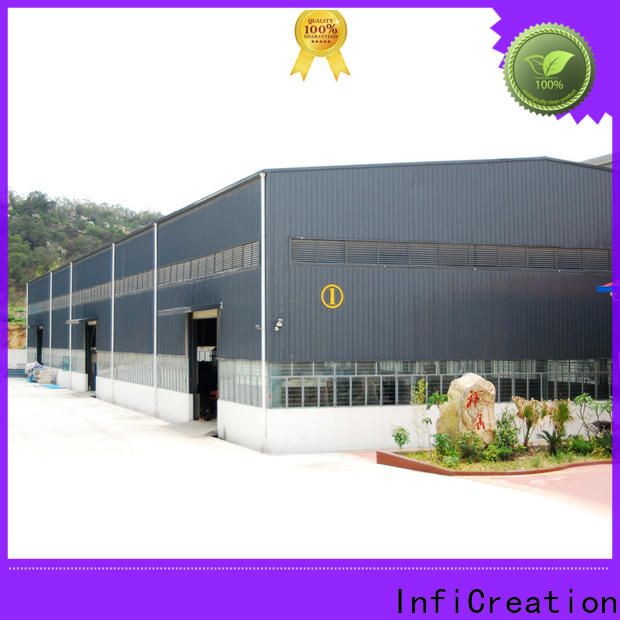 InfiCreation environmental friendly pre manufactured warehouse design for storage