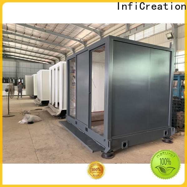 InfiCreation tiny pre built container homes factory price for carport