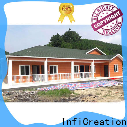 InfiCreation custom pre manufactured homes suppliers for booth