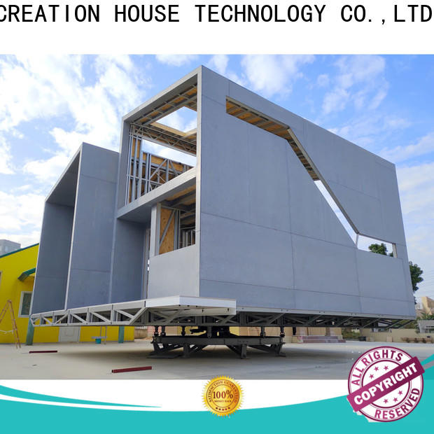 InfiCreation prefabricated luxury villas factory price for resorts