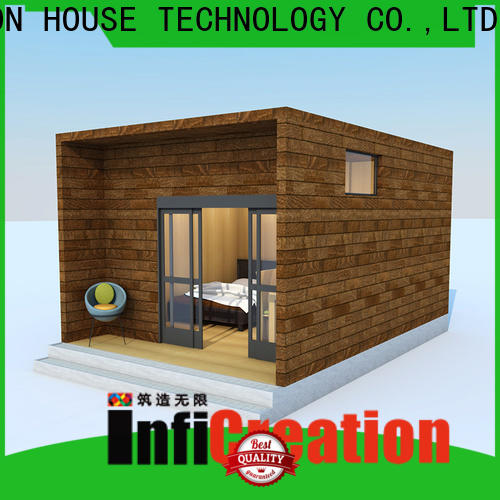 InfiCreation beautiful prefab cottage homes manufacturer for hotel