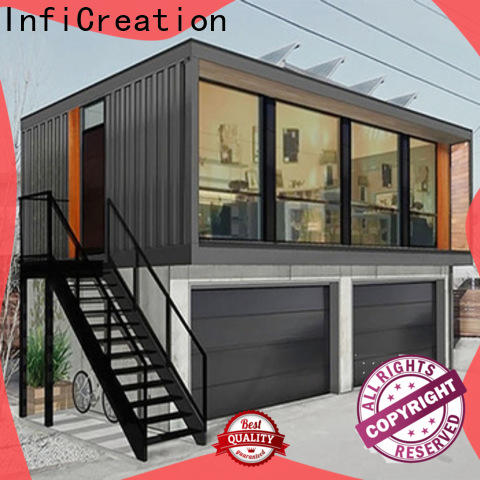 InfiCreation steel cargo container house factory for toilet