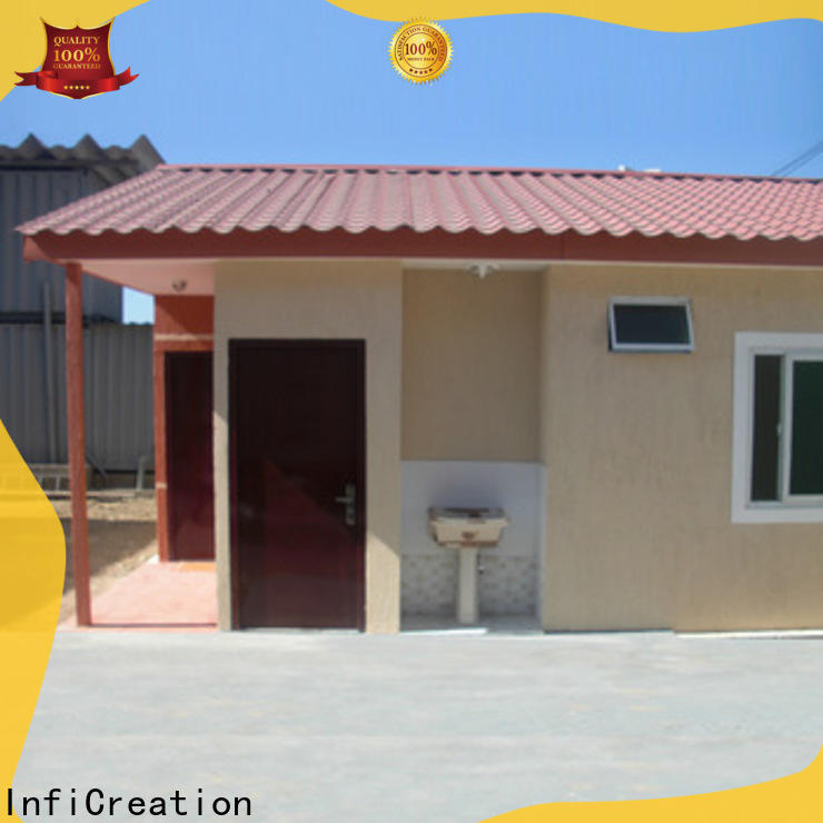 InfiCreation prefab storage container homes manufacturer for carport