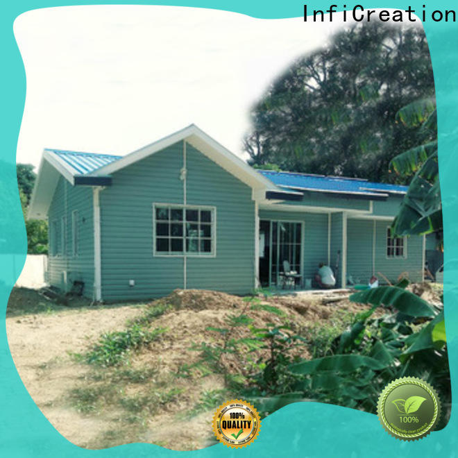InfiCreation pre fabricated cottages manufacturer for hotel