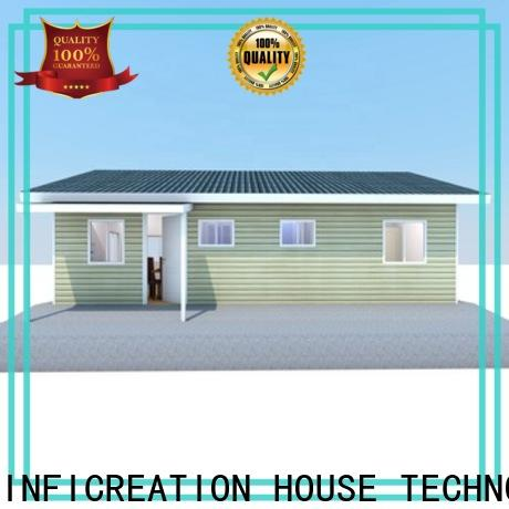 InfiCreation premade homes designer for hotel