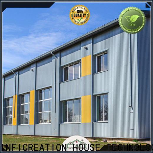 InfiCreation prefab steel warehouse supplier for cargo