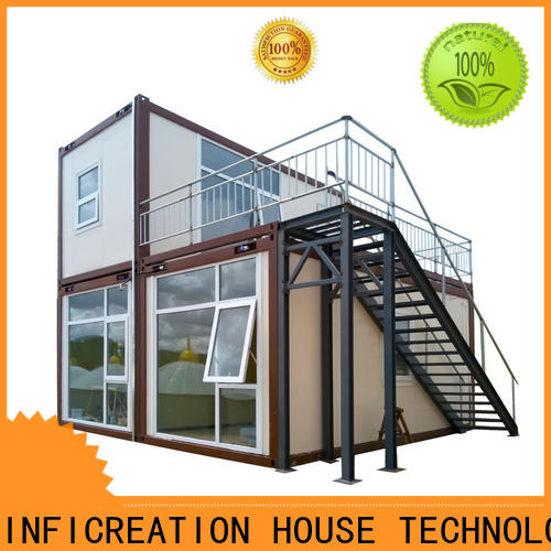 low cost pre built container homes supplier for toilet