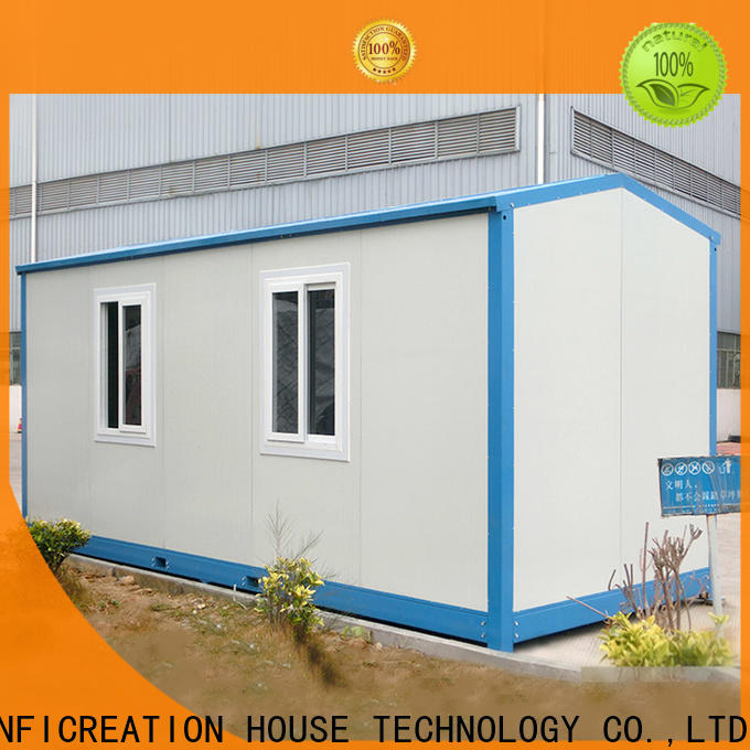 InfiCreation prefab container house factory price for booth