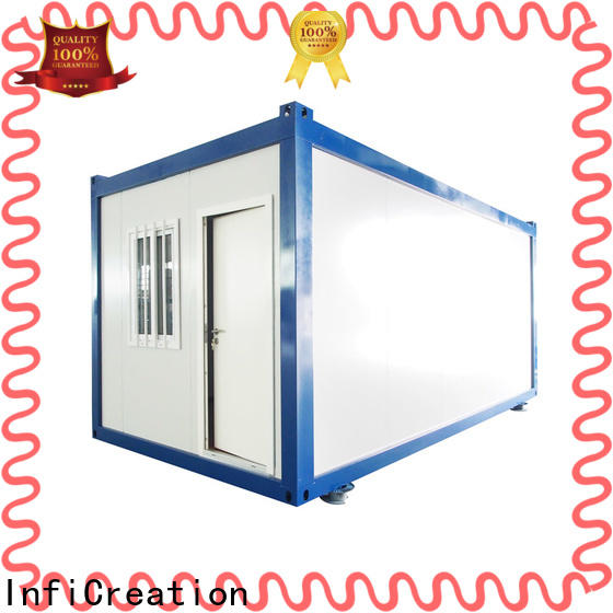 InfiCreation recyclable prefabricated container homes manufacturer for carport